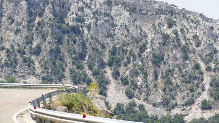Kurven wie in den Alpen