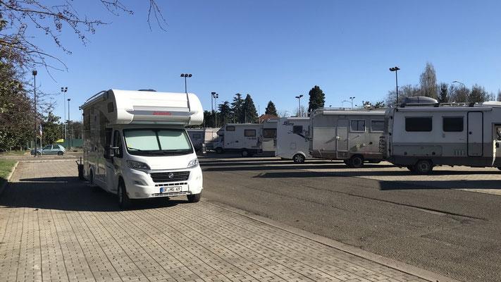 Wohnmobilparkplatz in Alessandria