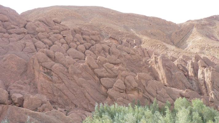 Wieder eine andere Felsformation