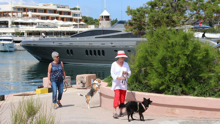 Die Schönen von der Oligarchen-Yacht