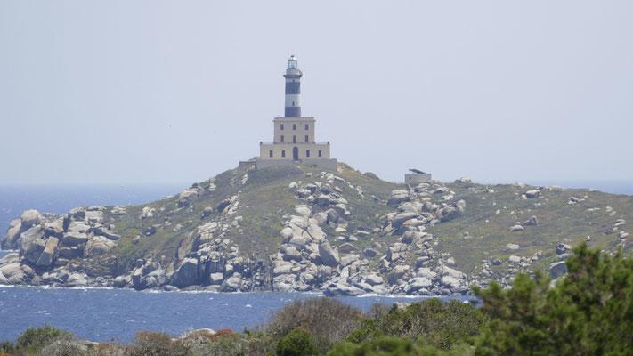 Der Leuchtturm des Capo Carbonara