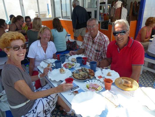 Mittagessen mit Rosemarie un Jörg
