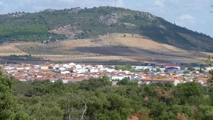Zwischen Caceres und Badajoz (in deie eine Richtung)