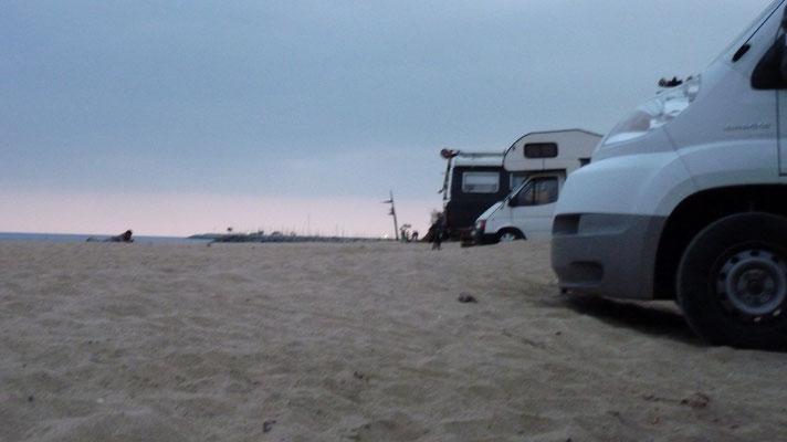 Weiter in den Sand ging nicht