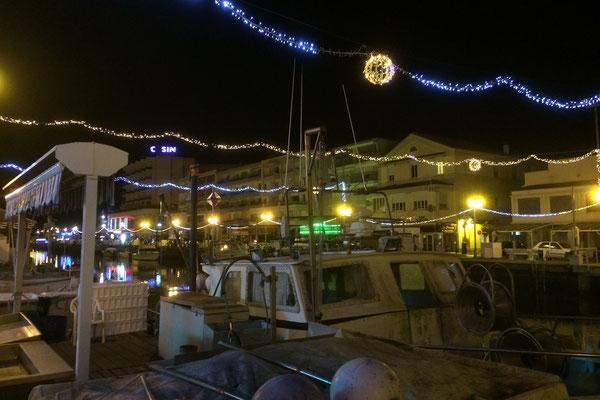 Palavas-les-Flots bei Nacht