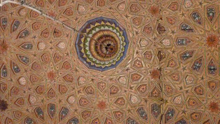 Dekcenfresko in der Moschee