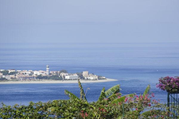 die Spitze Siziliens