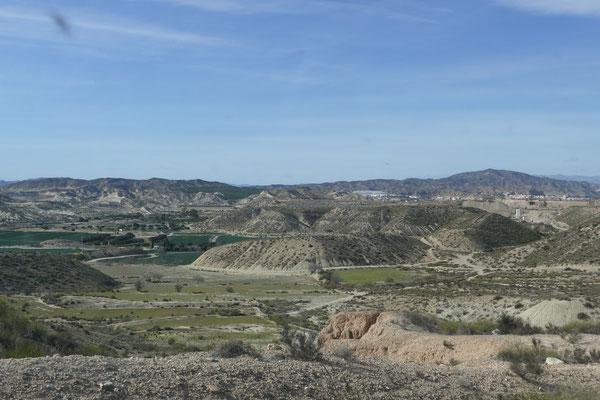 Das Hinterland zwischen Vera und Palomares