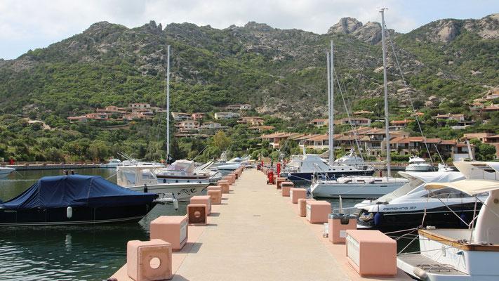 Der Hafen von Porto Cervo