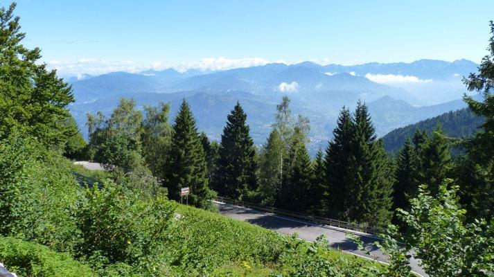 Bei Norge auf dem Monte Baldo