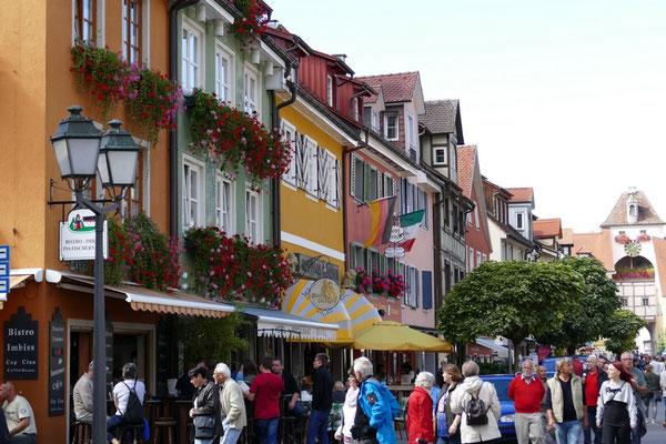Hauptstraße in der Unterstadt von Meersburg