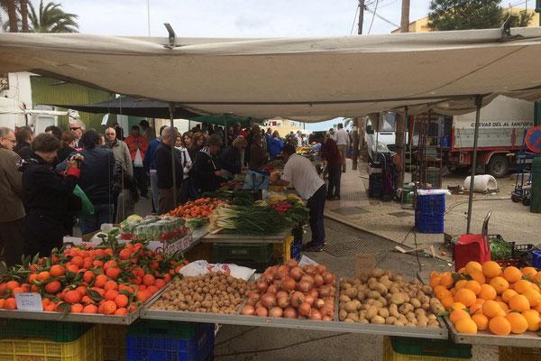 Sonntags ist Markt in Villaros