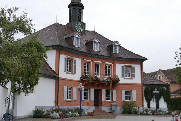 Das Rathaus von Bad Dürrheim