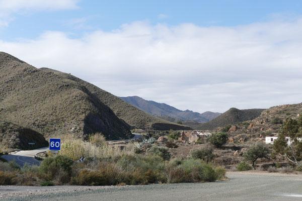 In den Bergen zwischen Mazarrón und Aguilas