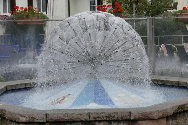 Ein schöner Brunnen in der Innenstadt