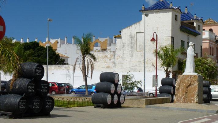 Sanlucar de Barrameda ist die Heimat des Sherry, der hier Manzanilla heißt