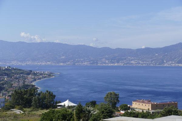 Blick auf Messina
