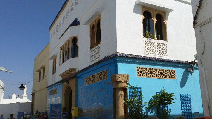 Haus in der Kasbah des Oudaia