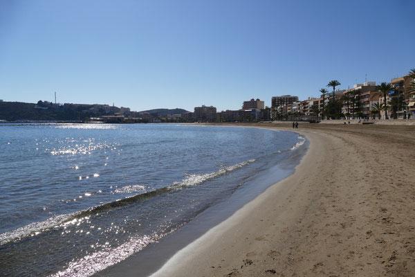 Strand von Puerto de Mazarrón