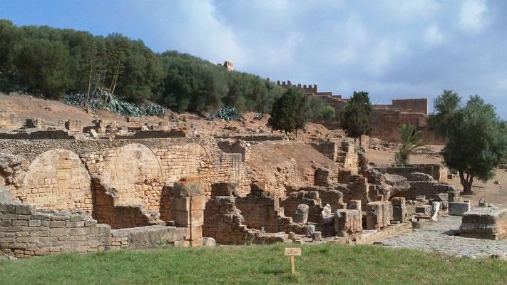 Chellah, die Nekropole der Meriniden-Dynastie