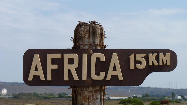 Ist nicht mehr weit bis Marokko.