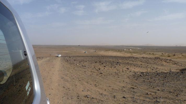 Offroad in die Wüste Erg Chebbi