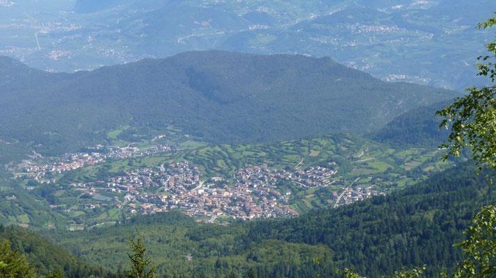 Vom Monte Baldo aus gesehen