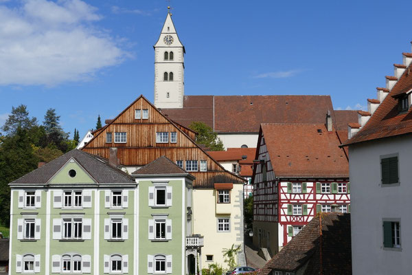 In der Oberstadt von Meersburg
