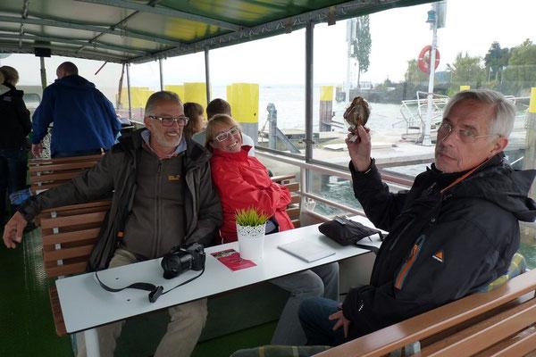 Auflugsfahrt auf dem Bodenseeschiff