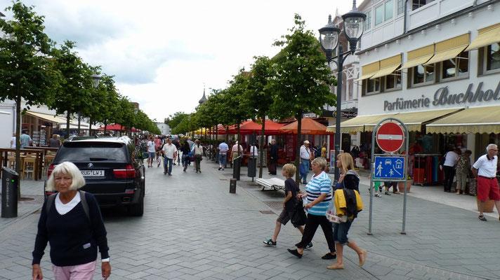 Fußgängerzone von Binz