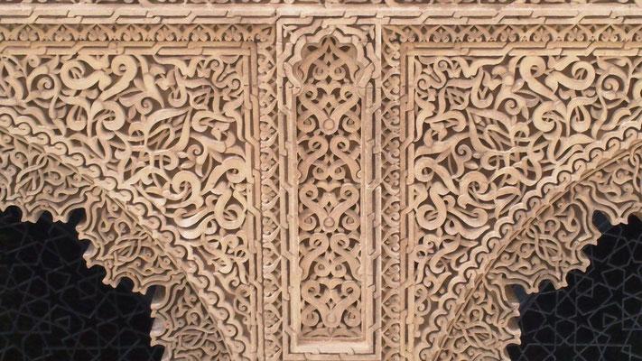 Ornament an der Moschee des Mausoleums