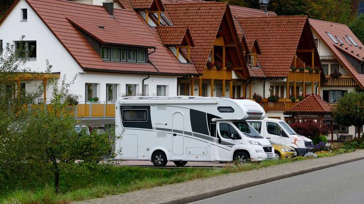 Übernachtungsplatz in Oberwolfach-Walke