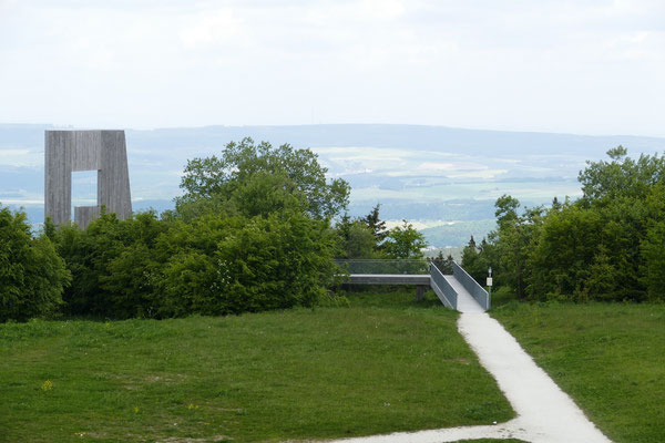 Blick vom Erbeskopf über den Hunsrück
