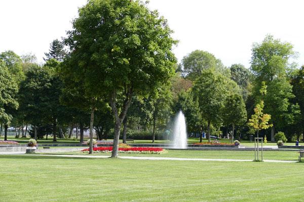 Der Kurpark von Bad Dürrheim