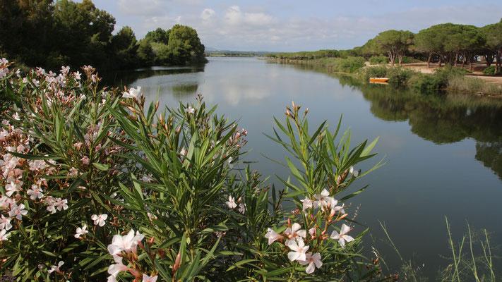 Die Lagune vor unserem Stellplatz
