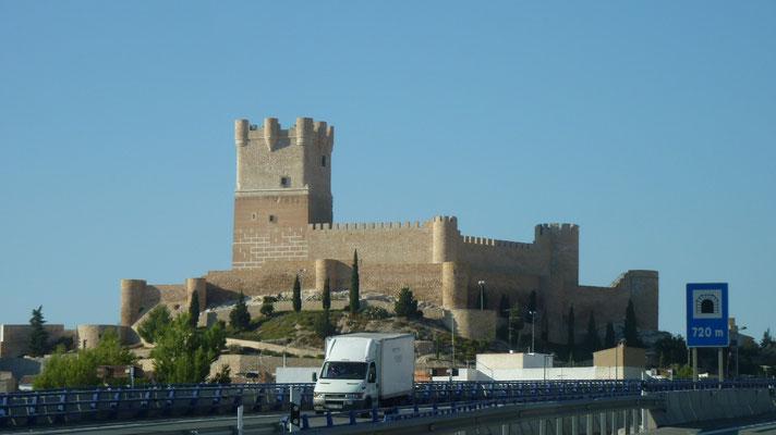 Spätmittelalterliche Burg in Sax (Provinz Alicante)