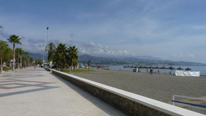 Strandpromenade von Torre del Mar
