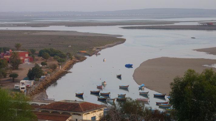 Die Lagune bei Moulay Bousselham