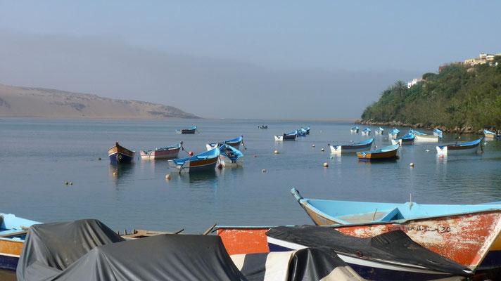 Die Lagune von Moulay Bousselham