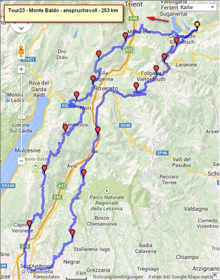 Route Monte Baldo