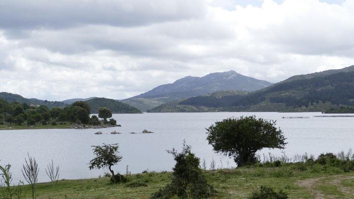 Der Stausee Lago Alto Flumendosa