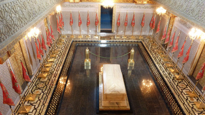 Das Königsgrab im Mausoleum