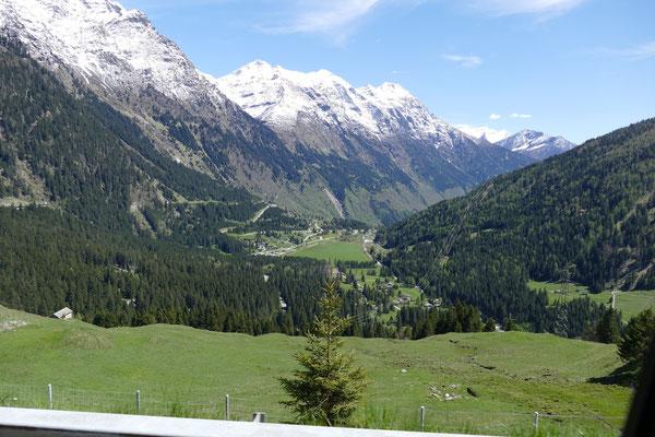 Südseite der Alpen