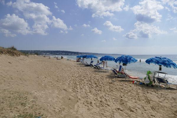 Der Strand in Posto Vecchio