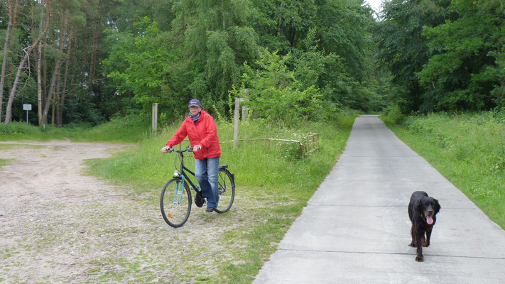 10 Kilometer Fahrradtour mit Filou