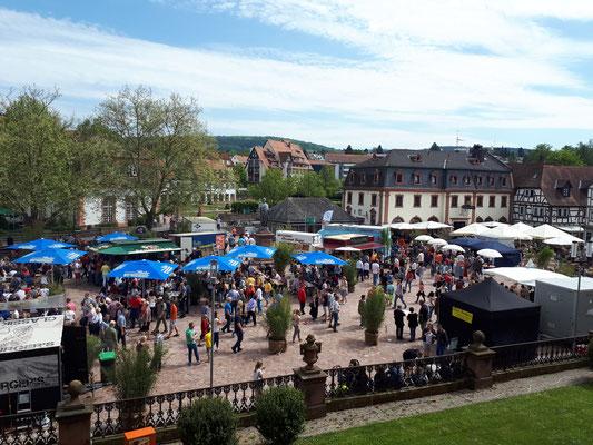 Frühlingsmarkt Erbach