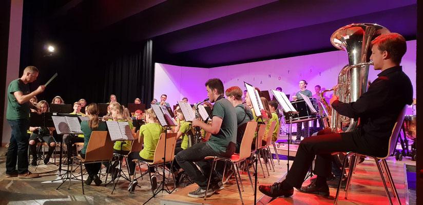 Auftritt am Young Band Festival
