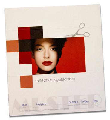Gutscheine für einen Friseurtermin erhalten Sie im HairEck No.1 - Ihrem Friseur in Leipzig Reudnitz