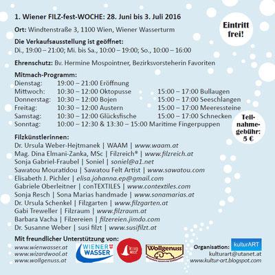 Flyer Filzfestwoche 2