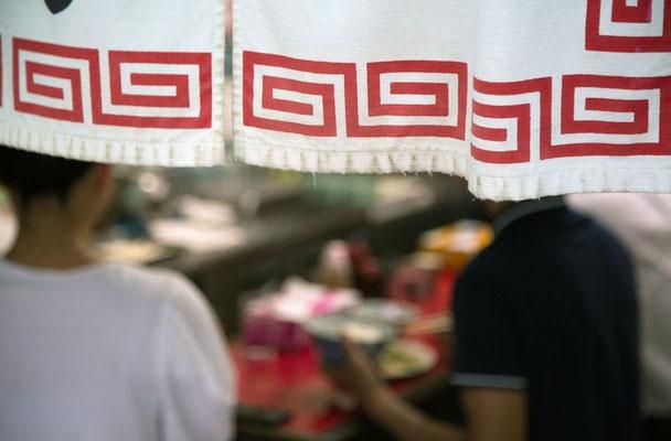 Restaurants sur les marchés aux poissons